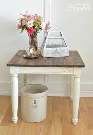 white farmhouse coffee table farmhouse side table makeover the interior frugalista farmhouse