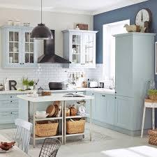 cuisine bleu pastel cuisine couleur nos modèles de meubles de cuisine préférés