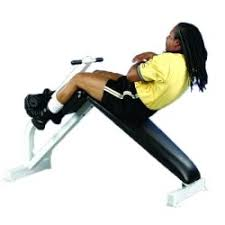 Back Extension Sit Up Bench Pro Maxima Power Systems