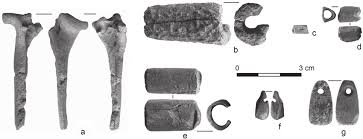 dudka bone ornaments from the and finds from the