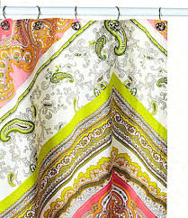 Yellow Paisley Shower Curtain by Shower Curtains Croscill Cordero Shower Curtain Design Shower