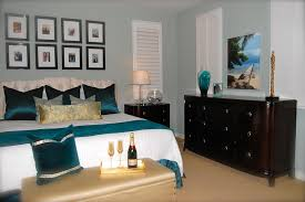 master bedroom decor ideas plus elegant black velvet bench using