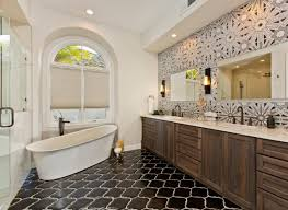 Master Bathroom Ideas Houzz Bathroomign Ideas Using Brown Travertine Flooring Including Master