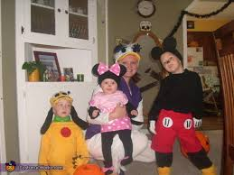 mickey mouse crew family halloween costume photo 3 3