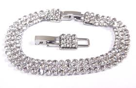 swarovski white bracelet images Fit bracelet mesh white crystal palladium plating 2017 swarovski jpg