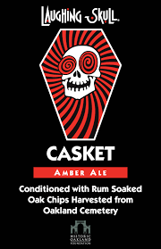 halloween casket oakland cemetery resurrects partnership with red brick brewing for