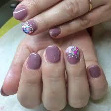 short gel nail designs