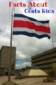 Flag Costa Rica Best 25 Costa Rica Facts Ideas On Pinterest Costa Rica