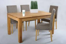 solid wood extending dining table and chairs interior design