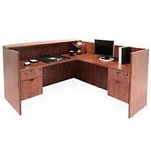 L Shaped Reception Desk Reception Desks W Savings You Ll Officefurniture