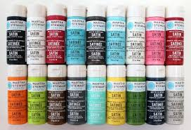 martha stewart crafts multi surface satin acrylic