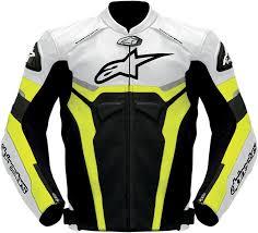 yellow motorcycle jacket alpinestars celer leather motorcycle jacket black white yellow