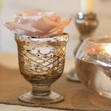 Footed Glass Vase Mercury Silver Glass Vases U0026 Candle Holders For Weddings U2013 The