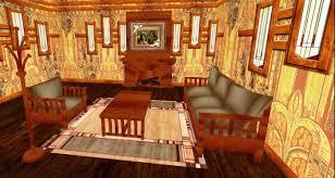 mission style living room furniture second life marketplace oak carmel craftsman living room