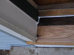 Replacing An Exterior Door Threshold Exterior Door Thresholds Door Decorations