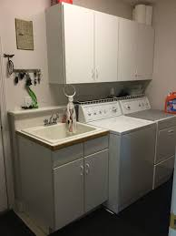 Inexpensive Cabinets For Laundry Room by Inexpensive Laundry Room Makeover U2013 Chas U0027 Crazy Creations