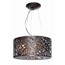 Multi Light Pendant Lighting Et2 E21309 10bz Bul At Home Lighting Contemporary Drum Pendants