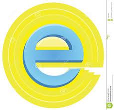 letter e stock illustration image of design governance 10327665