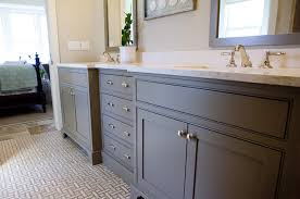 Cottage Bathroom Vanities by Gray Bathroom Vanities Cottage Bathroom Urban Grace Interiors