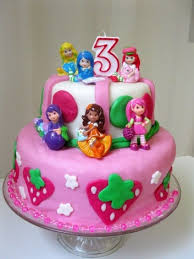 25 strawberry shortcake birthday cake ideas