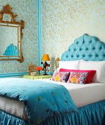 Gold And Blue Bedroom Beautiful Bed Bedroom Blue Gold Headboard Image 23251 On