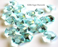 edible cake decorations edible diamonds wedding cake