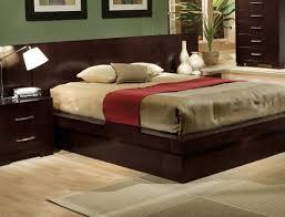 Modern Bedroom Platform Set King Bed Contemporary King Bed Upholstered Platform Favorite King