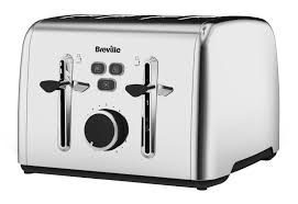 Brevelle Toaster Breville Colour Notes 4 Slice Toaster Stainless Steel Amazon Co