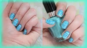 summer floss nail design for short nails youtube