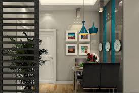 Partition In Home Design by Dining And Living Interior Design Ideas For The House