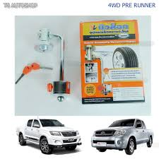 spare tire wheel tech lock for toyota hilux vigo 2004 2014 4wd