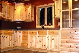 Log Cabin Kitchen Cabinets Cozy  Home Kitchens HBE Kitchen - Cabin kitchen cabinets