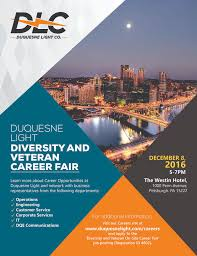 duquesne light pittsburgh pa duquesne light diversity veteran career fair careerlink pittsburgh