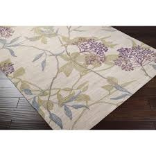 Brown Paisley Rug Ameila Area Rug Purple Floral And Paisley Rugs Hand Tufted