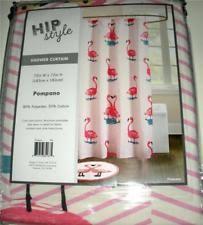 pink flamingo shower curtain ebay