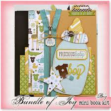 baby boy scrapbook album gogo girl scrapbooking june 2013 baby mini album kit bundle of