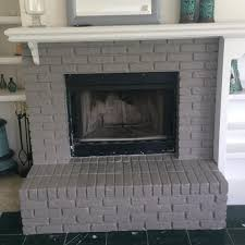 How To Clean A Brick Floor Inside by How To Paint A Brick Fireplace