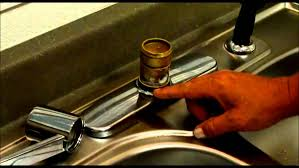How To Repair A Leaky Faucet Handle Kitchen Kitchen Sink Cartridge How To Fix A Leaky Sink Grease
