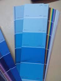 blue shades color professional paint color card universal decorating paint color