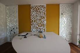Interior Partition Wall by Decorative Panel Mdf For Partition Walls Wall Mounted