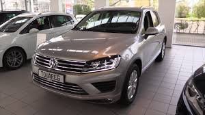 volkswagen touareg interior volkswagen touareg 2016 in depth review interior exterior youtube