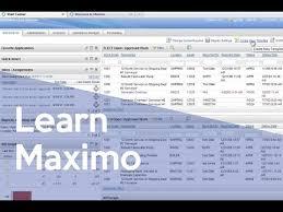 ibm maximo 7 5 start center template portlet design youtube