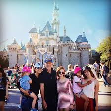 bruce willis enjoys family trip to disneyland with wife and four
