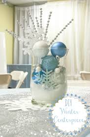 winter centerpieces 12 days of christmas day 6 winter centerpiece all that glitters