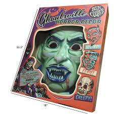 regal home decor crypt vampire vac tastic plastic mask wall decor regal robot