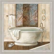 amazon com zen bathroom decor spa bath decor i art print framed
