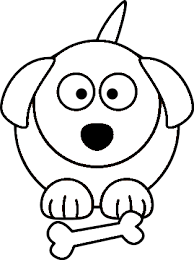 puppy coloring pages clipart best clipart best cartoon dog