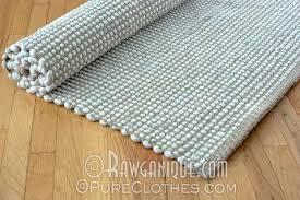 Organic Cotton Area Rug Organic Cotton Linen Hemp Home Decor Pureclothes