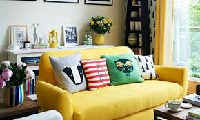 Yellow Living Room Chair Skillful Design Yellow Living Room Furniture Gray And Grey Leather