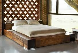 Wood Platform Bed What Is A Platform Bed Best Mattress Reviews